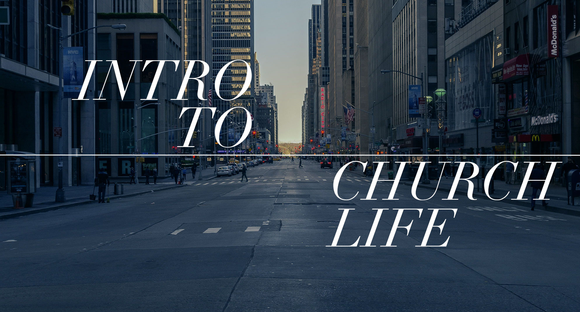 Intro To Church Life